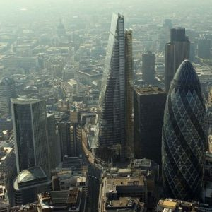 Leadenhall building in the City of London