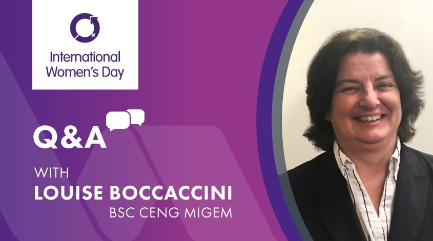 International Women's Day Q and A with Louise Boccaccini