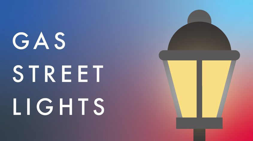 blog graphic for gas street lights blog