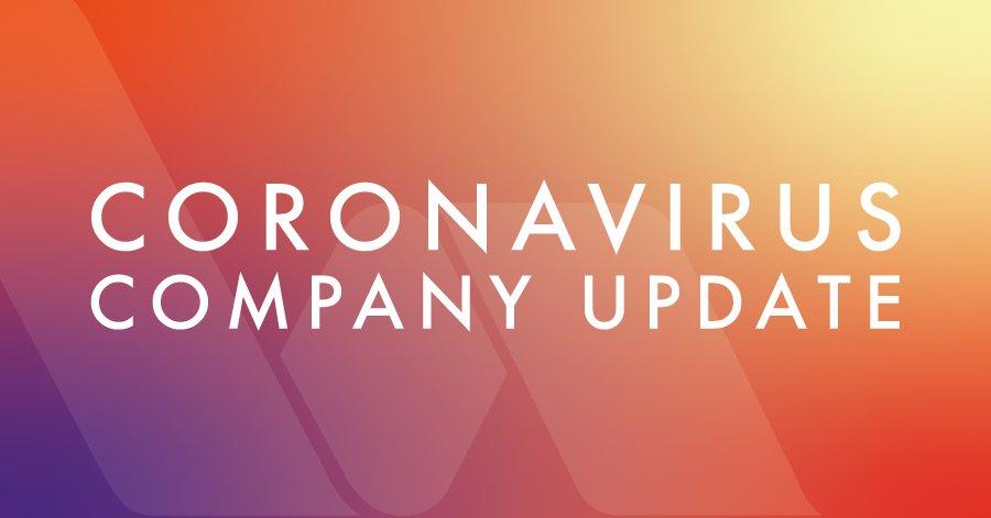 Coronavirus company update