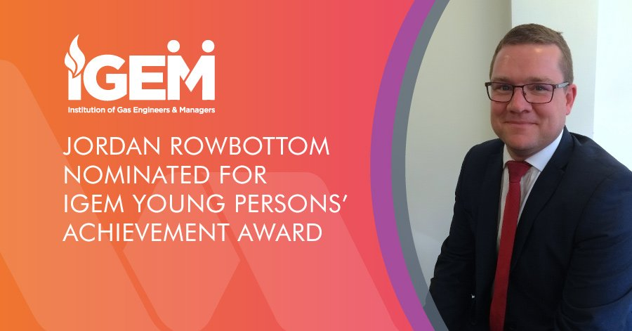 Jordan Rowbottom nominated for iGEM award
