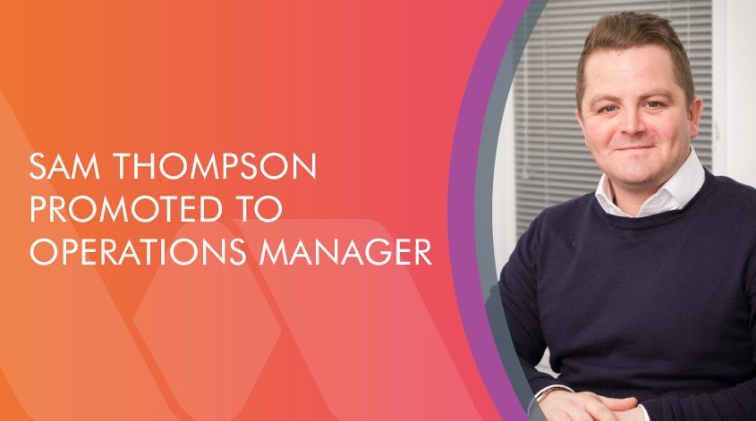 Operations Manager Sam Thompson blog graphic