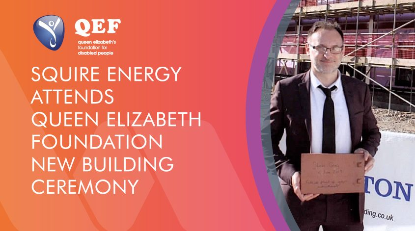 Queen Elizabeth Foundation building ceremony blog graphic
