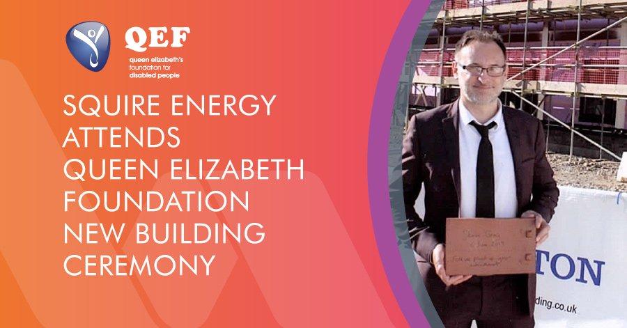 Queen Elizabeth Foundation building ceremony blog graphic