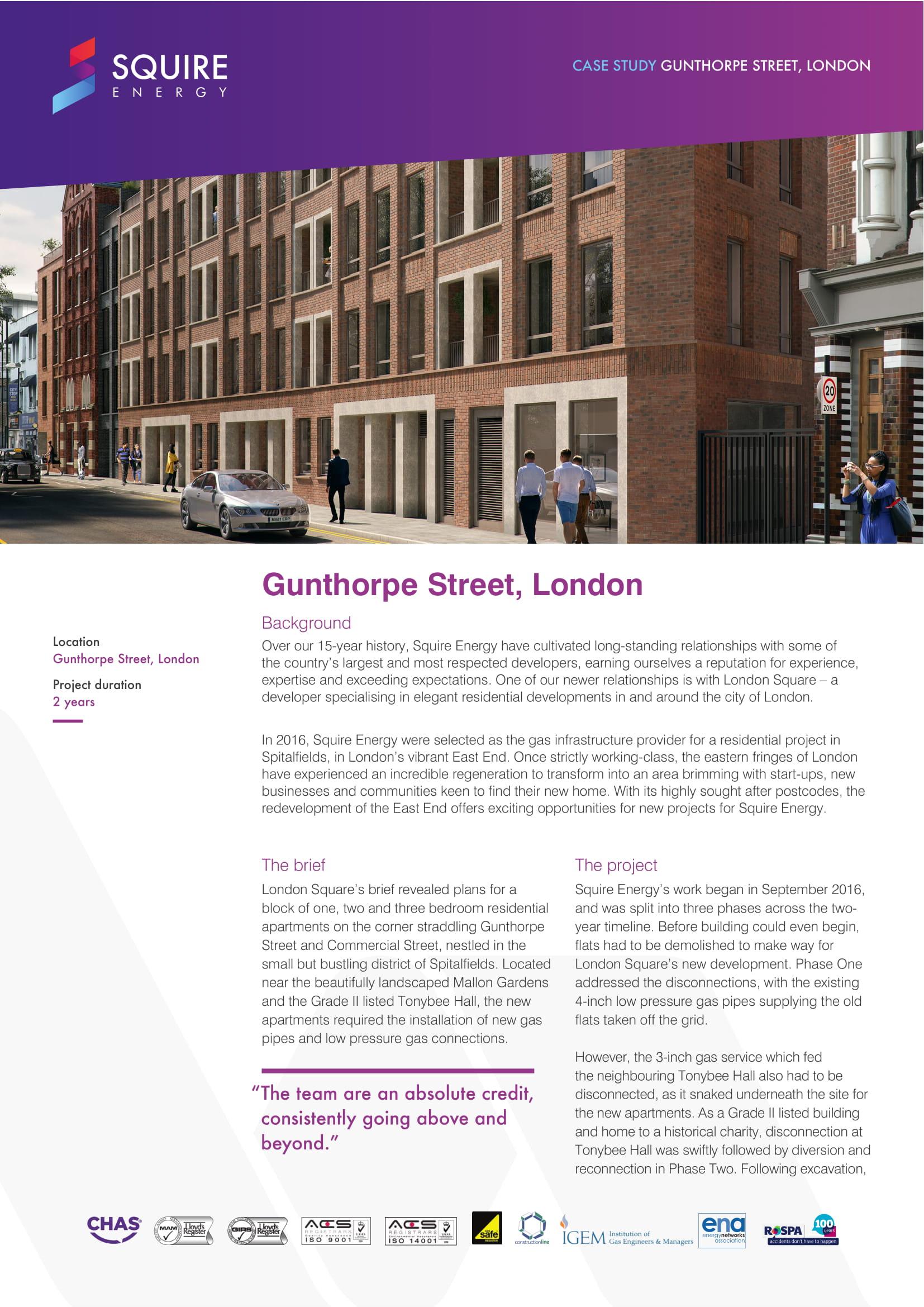 Gunthorpe Street, London square, spitalfields page 1
