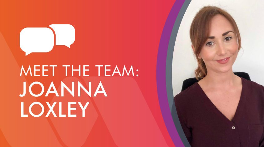 Squire Energy meet the team graphic with Joanna Loxley