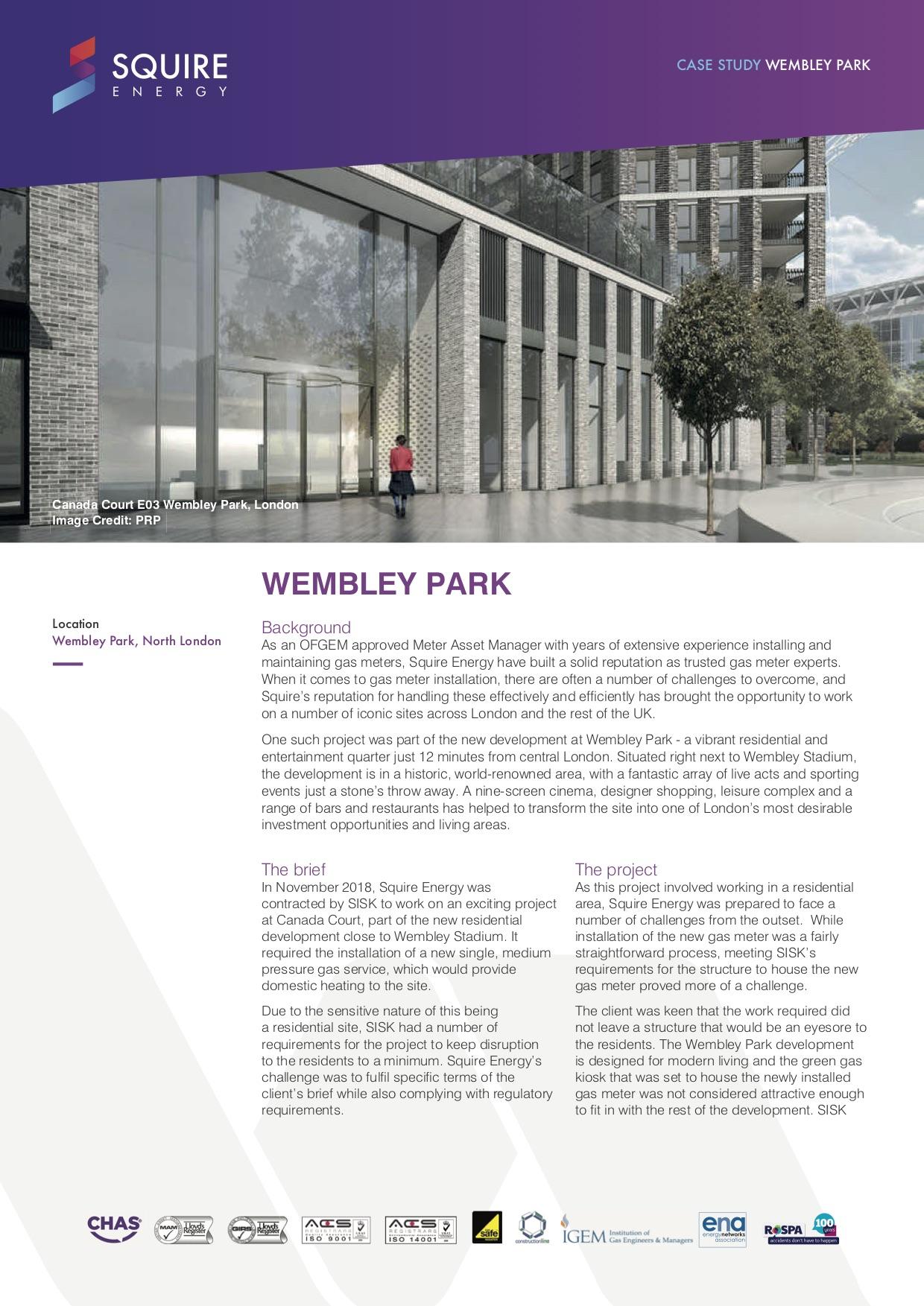 Wembley Park page 1