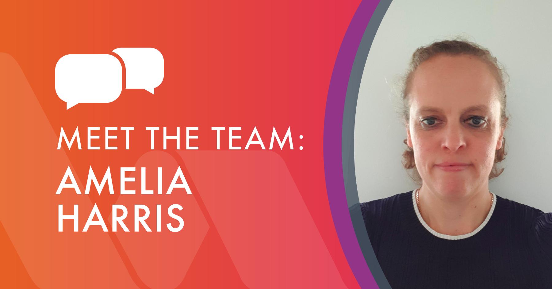 Meet the Team - Amelia Harris, Financial Controller