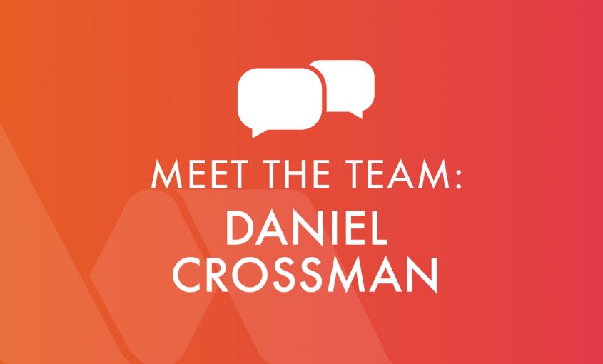 Meet the team - Daniel Crossman, Metering Coordinator