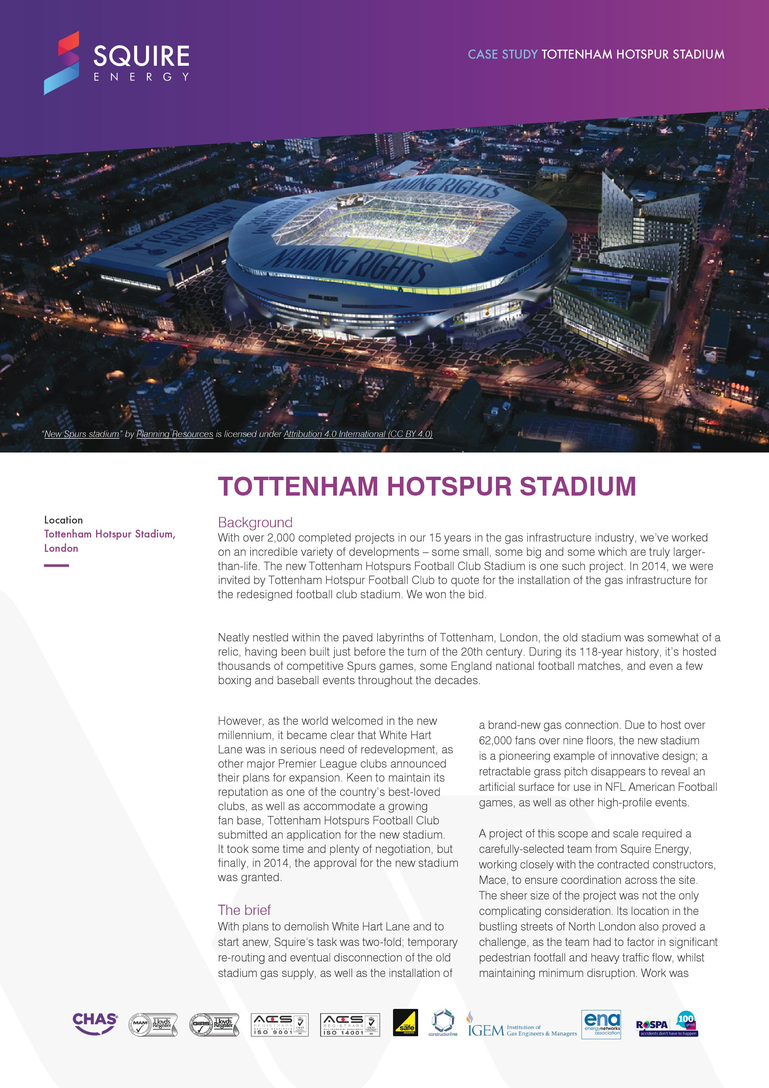 tottenham stadium case study page 1